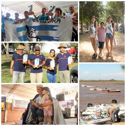 27º Concurso de Pesca: primer, segundo y tercer puesto para tríos ocampenses.