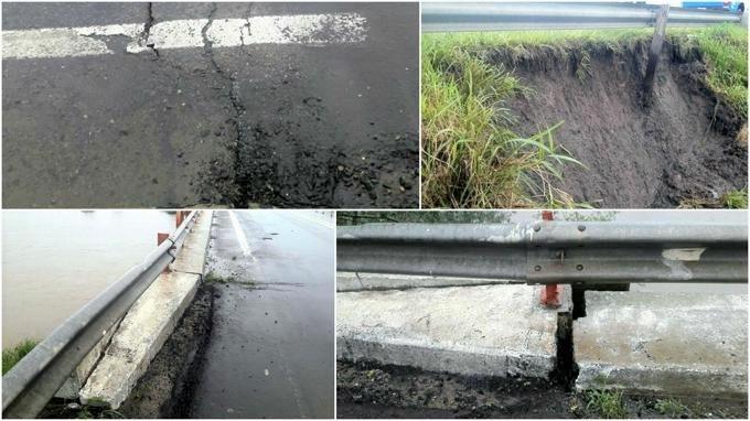 Ruta 11: Informe de Vialidad Provincial sobre el estado del puente sobre el Arroyo El Toba Dpto Vera