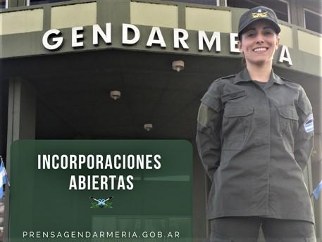 Está abierta la inscripción para incorporarse a Gendarmería Nacional